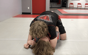 [VIDEO] Top Mount Nogi Control Details, Principles, Rear Naked Choke Grip Control