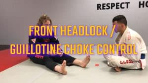 [VIDEO] Rational Front Headlock / Guillotine Choke Control