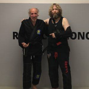 My friend got his BJJ Black Belt in his 70s!
