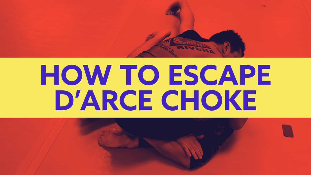 How to Escape D'Arce Choke